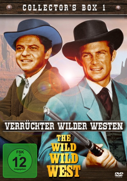 Wild Wild West - Verrückter wilder Westen: Collector´s Box 1 (4 DVDs)