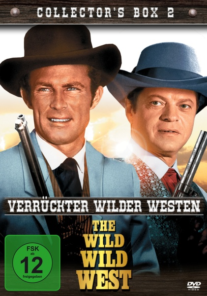 Wild Wild West - Verrückter wilder Westen: Collector´s Box 2 (4 DVDs)