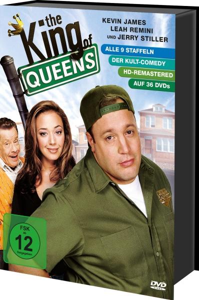 The King of Queens - Die komplette Serie (Keepcase) (36 DVDs)