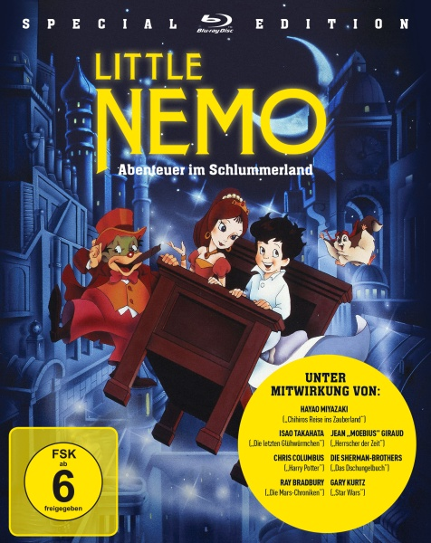 Little Nemo - Abenteuer im Schlummerland - Special Edition (Blu-ray)