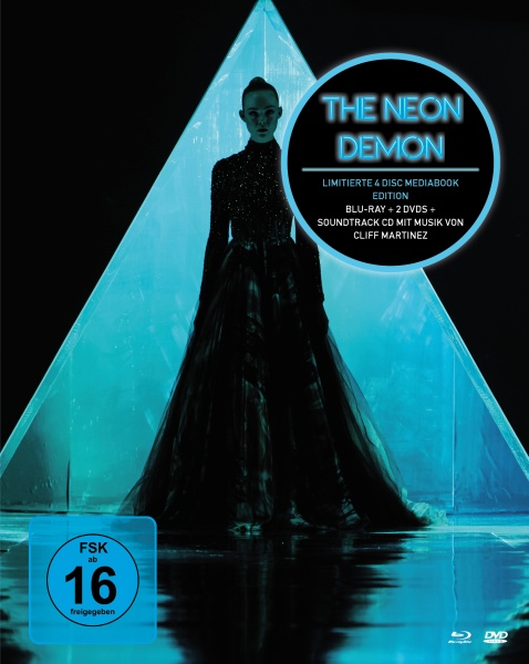 The Neon Demon (Mediabook, 1 Blu-ray und 2 DVDs + Soundtrack CD)