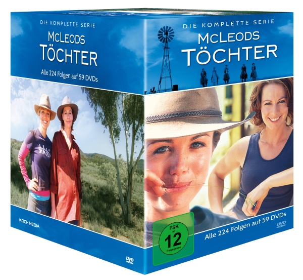 McLeods Töchter - Die komplette Serie im Schuber (59 DVDs)
