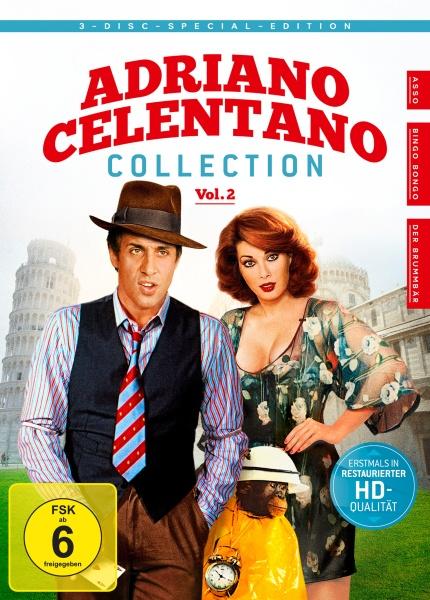 Adriano Celentano - Collection Vol. 2 (3 DVDs)