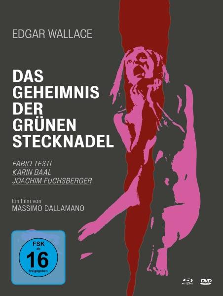 Edgar Wallace: Das Geheimnis der grünen Stecknadel (Mediabook, 2 Blu-rays und 1 DVD)