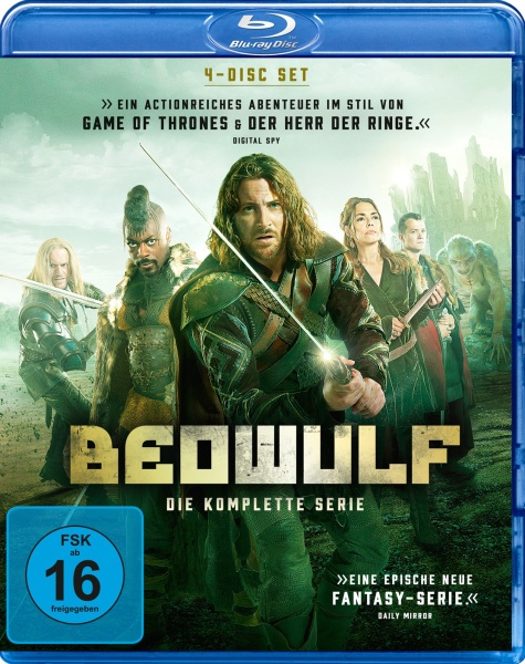 Beowulf - Die komplette Serie (4 Blu-rays)