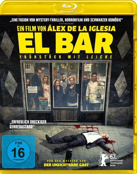 El Bar - Frühstück mit Leiche (Blu-ray)