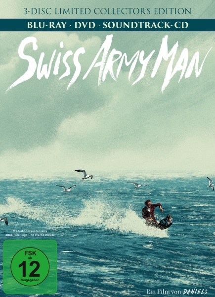 Swiss Army Man - Mediabook (Limited Collector's Edition) (1 Blu-ray+1 DVD+1 CD)