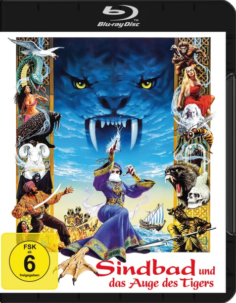 Sindbad und das Auge des Tigers / Sinbad and the Eye of the Tiger (Blu-ray)