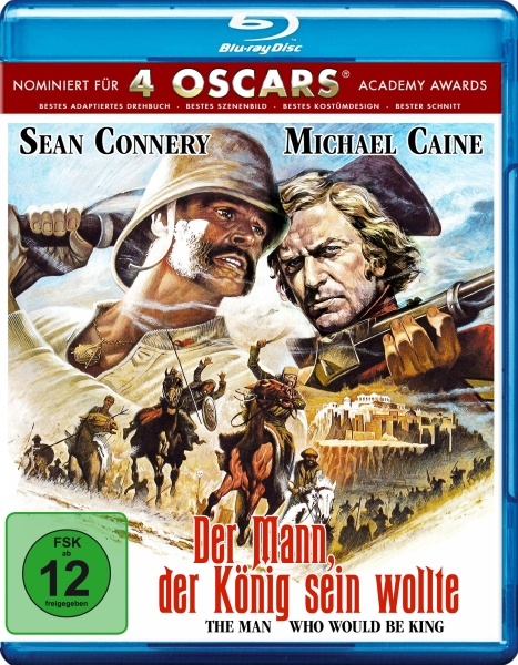 Der Mann, der König sein wollte / The man who would be king (Blu-ray)