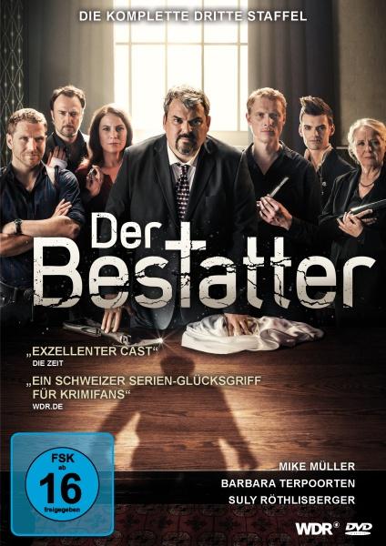 Der Bestatter - Die komplette 3. Staffel (2 DVDs)