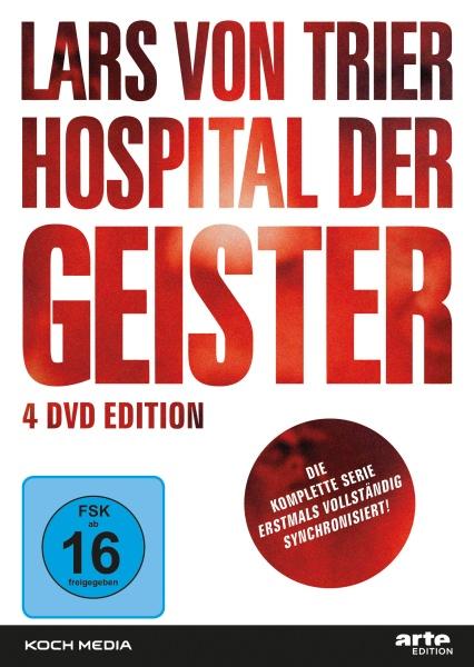 Lars von Trier Hospital der Geister (4 DVDs)