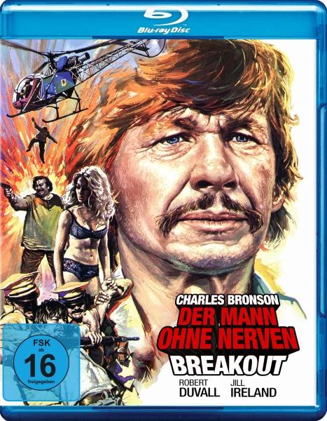 Der Mann ohne Nerven / Breakout (Blu-ray)