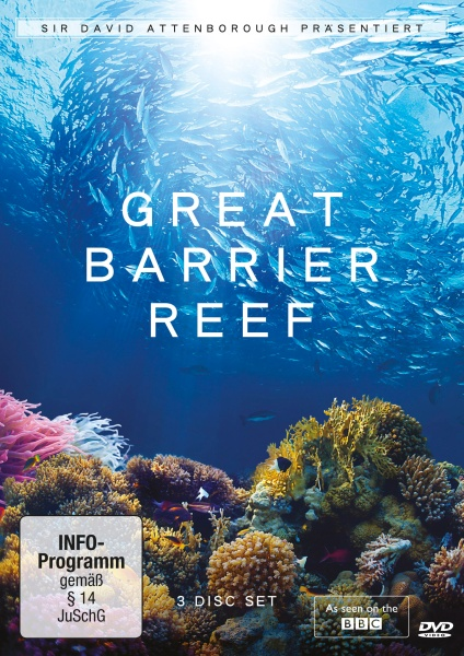David Attenborough: Great Barrier Reef (3 DVDs)
