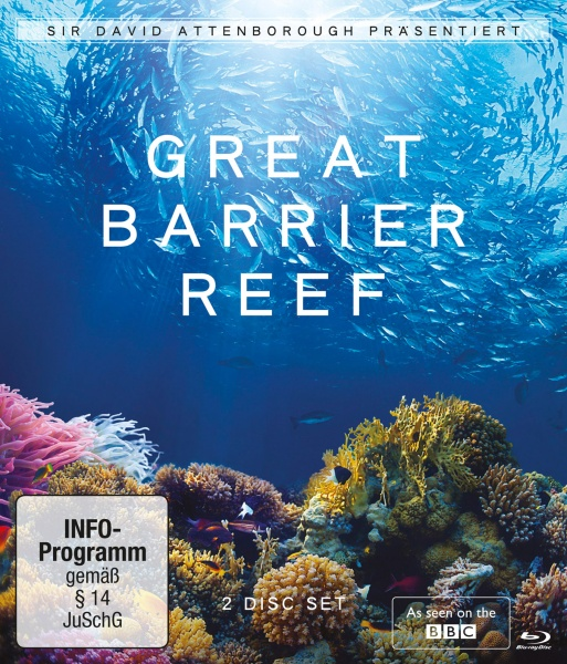 David Attenborough: Great Barrier Reef (2 Blu-rays)