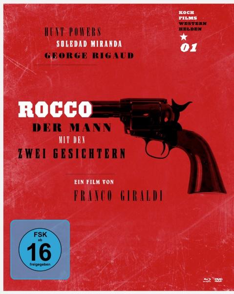 Rocco - Der Mann mit den zwei Gesichtern (Westernhelden #1) (1 Blu-ray + 1 DVD)