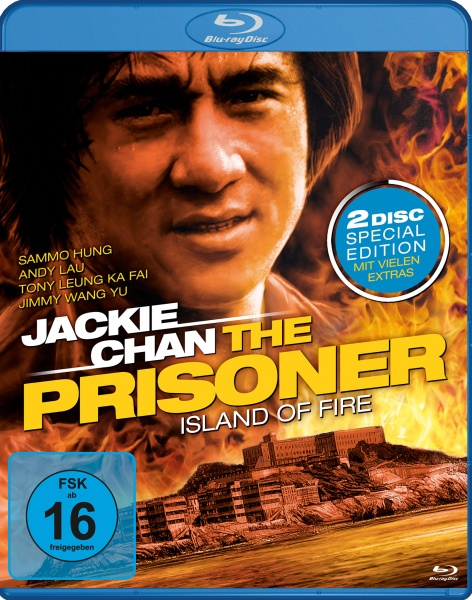 Jackie Chan: The Prisoner (Special Edition) (Blu-ray + DVD)