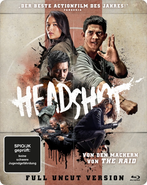 Headshot (Steelbook) (Blu-ray)