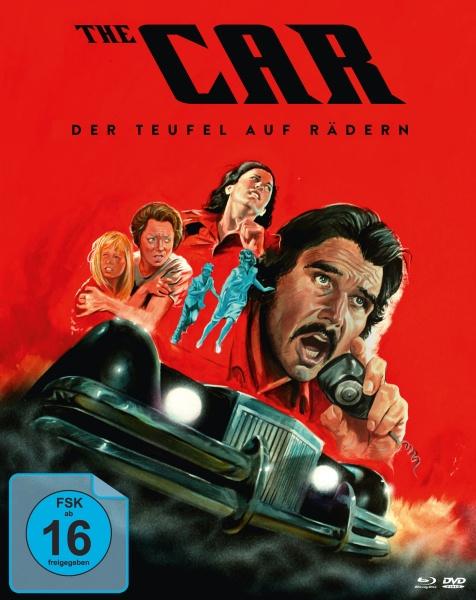 Der Teufel auf Rädern - The Car (Mediabook, 1 Blu-ray + 2 DVDs)