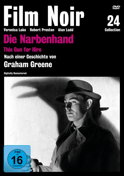 Film Noir Collection #24: Die Narbenhand (DVD)
