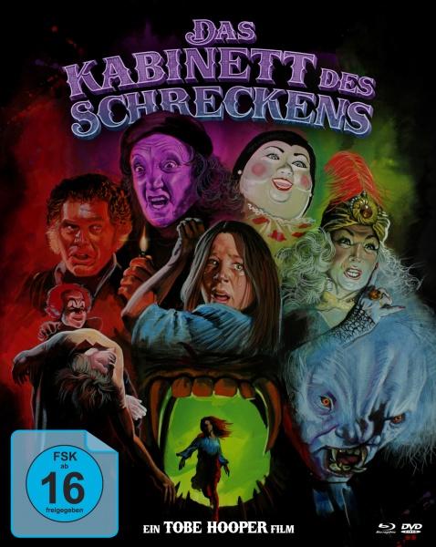 Kabinett des Schreckens (Mediabook, 1 Blu-ray + 2 DVDs)