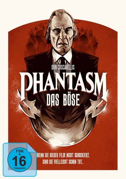 Phantasm - Das Böse (Mediabook, 1 Blu-ray + 2 DVDs) (Version A)