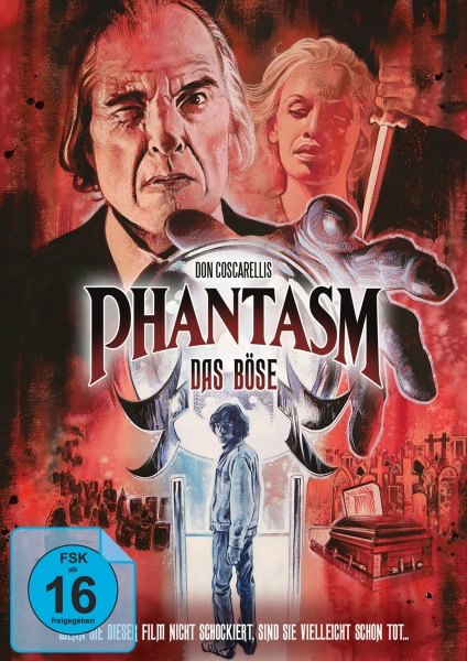 Phantasm - Das Böse (Mediabook, 1 Blu-ray + 2 DVDs) (Version C)