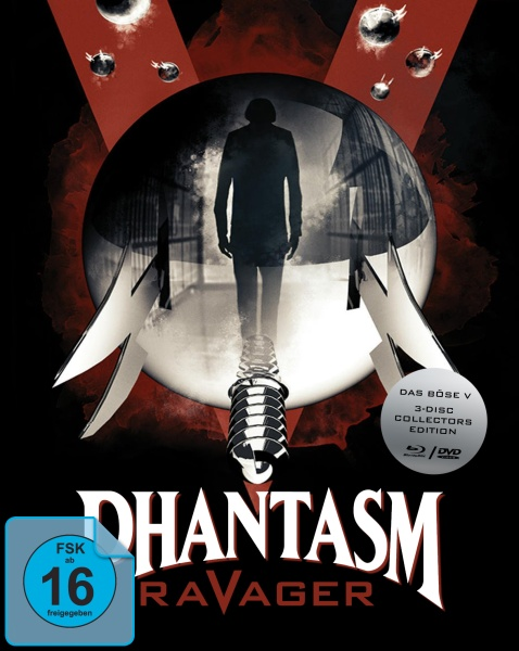 Phantasm V - Ravager - Das Böse V (Mediabook, 1 Blu-ray + 2 DVDs)