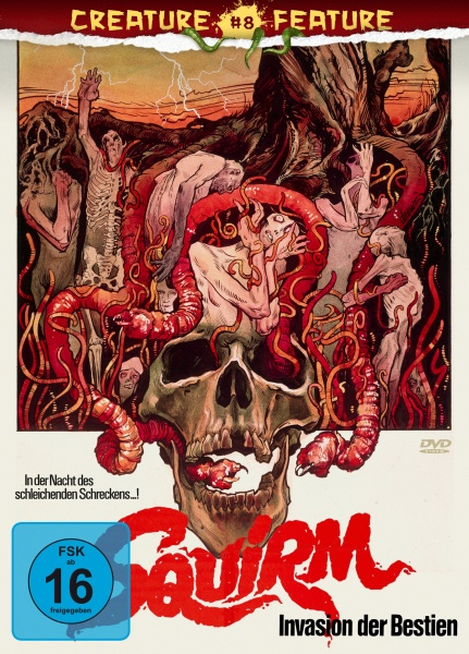 Squirm - Invasion der Bestien (Creature Features Collection #8) (DVD)