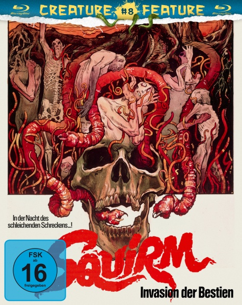 Squirm - Invasion der Bestien (Creature Features Collection #8) (Blu-ray)