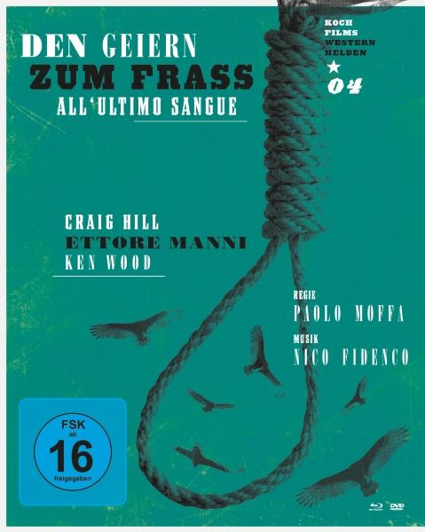 Den Geiern zum Fraß (Westernhelden #4) (1 Blu-ray + 1 DVD)