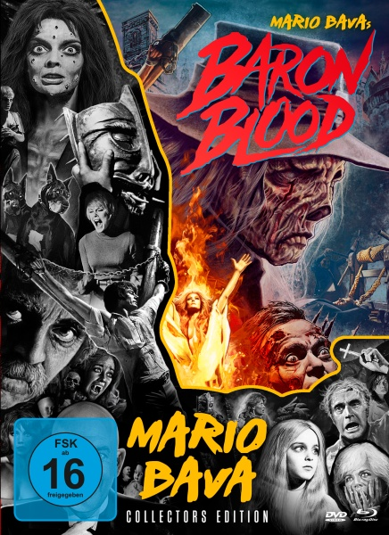 Baron Blood - Mario Bava-Collection #4 (1 Blu-ray und 2 DVDs)