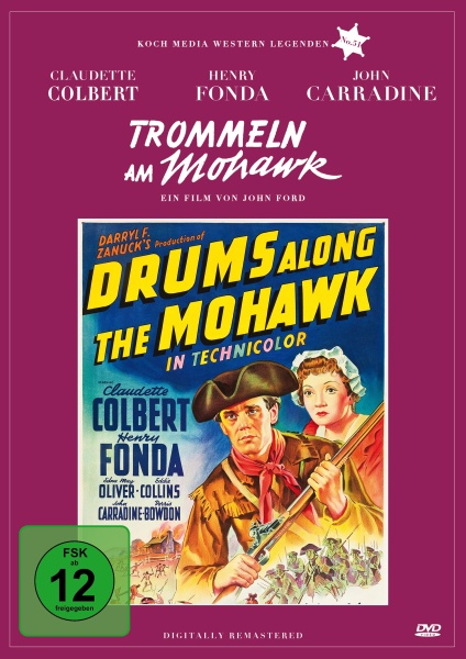 Trommeln am Mohawk (Edition Western-Legenden #51) (DVD)