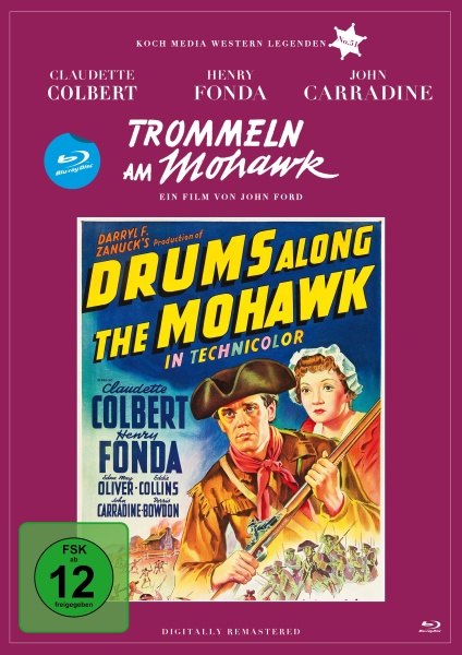 Trommeln am Mohawk (Edition Western-Legenden #51) (Blu-ray)