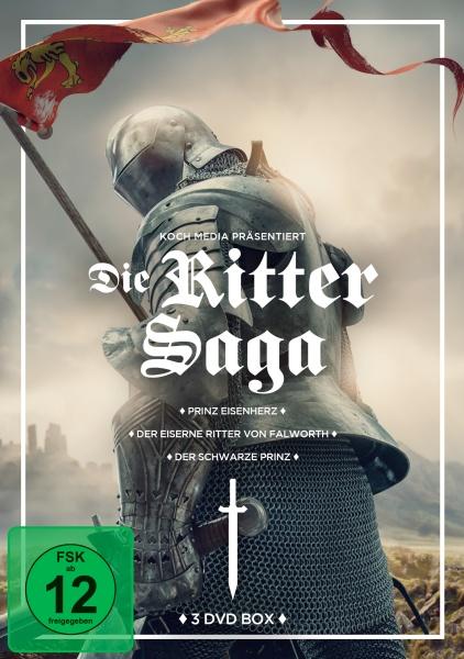 Ritter-Box (Prinz Eisenherz, Der schwarze Prinz, Der eiserne Ritter von Falworth) (3 DVDs)