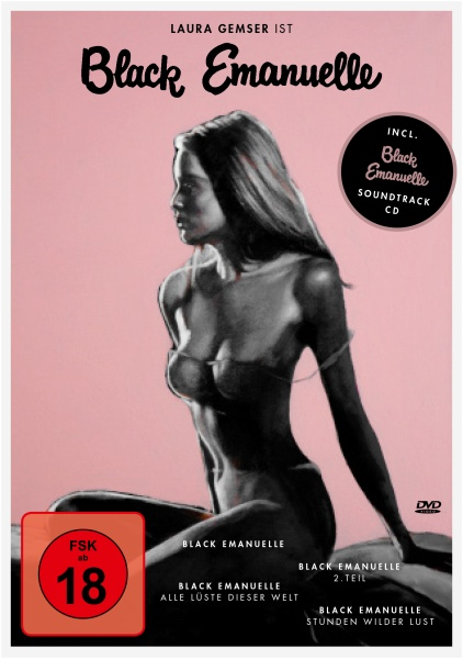 Black Emanuelle 1-4 Box (4 DVDs + 1 CD)