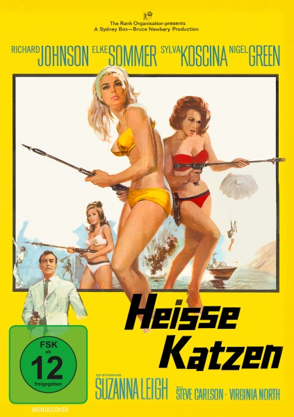 Heisse Katzen - Deadlier Than the Male (Uncut) (DVD)