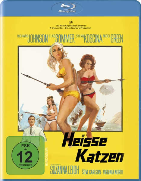 Heisse Katzen - Deadlier Than the Male (Uncut) (Blu-ray)