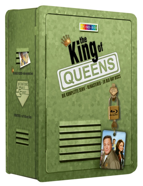 The King of Queens - Die komplette Serie - Spind-Box (18 Blu-rays)