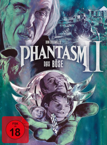Phantasm II - Das Böse II (Mediabook, 1 Blu-ray + 2 DVDs) (Version A)