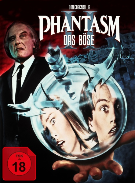 Phantasm II - Das Böse II (Mediabook, 1 Blu-ray + 2 DVDs) (Version B)