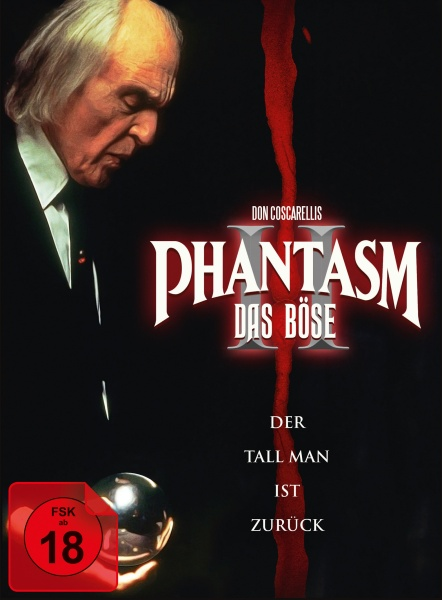 Phantasm II - Das Böse II (Mediabook, 1 Blu-ray + 2 DVDs) (Version C)