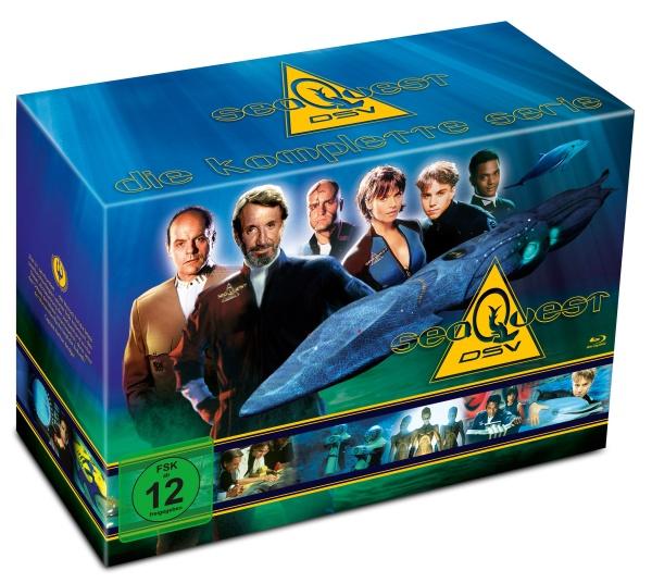 Seaquest DSV - Die komplette Serie (13 Blu-rays)