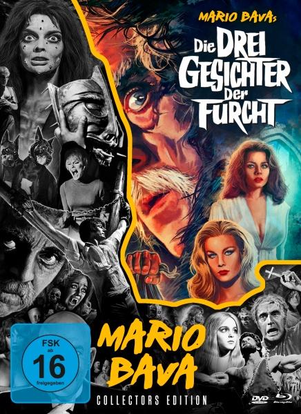 Die drei Gesichter der Furcht - Mario Bava-Collection #5 (1 Blu-ray und 2 DVDs)