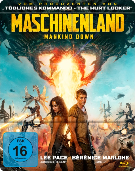 Maschinenland - Mankind Down (Steelbook) (Blu-ray)