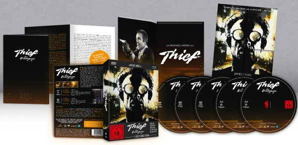 Thief - Der Einzelgänger (Ultimate Edition) (2 Blu-rays + 3 DVDs)