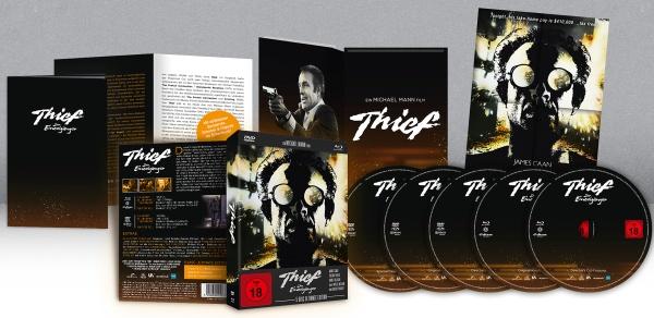 Thief - Der Einzelgänger (Ultimate Edition) (2 Blu-rays + 3 DVDs)
