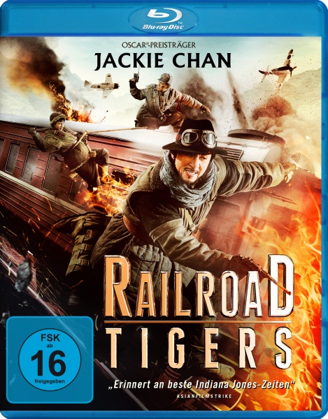 Railroad Tigers (Blu-ray)