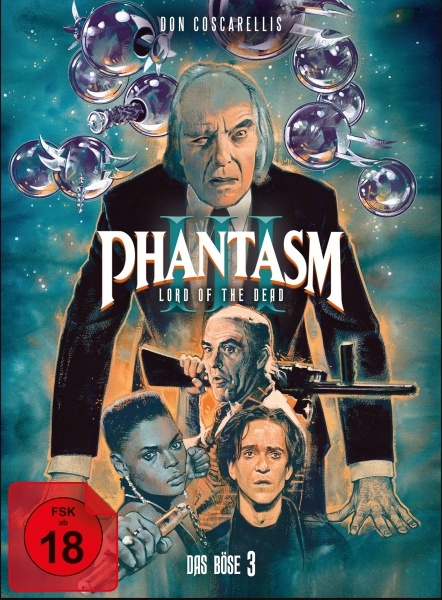 Phantasm III- Das Böse III (Mediabook, 1 Blu-ray + 2 DVDs) (Version A)