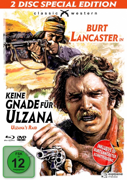 Keine Gnade für Ulzana - Special Edition (Blu-ray+DVD)