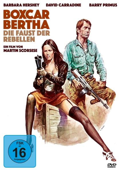 Boxcar Bertha - Die Faust der Rebellen (DVD)